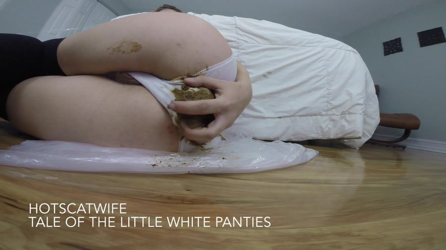 HotScatWife - Tale of the little WHITE PANTIES [FullHD 1080p]
