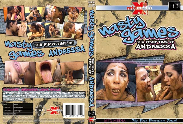 Andressa, Latifa, Stella - MFX-3119 - Nasty Games - 1st Time of Andressa [SD]