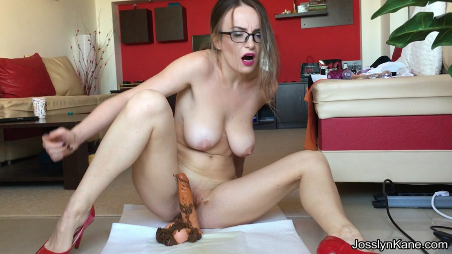 JosslynKane - Strip tease and pooping on your cock [FullHD 1080p]