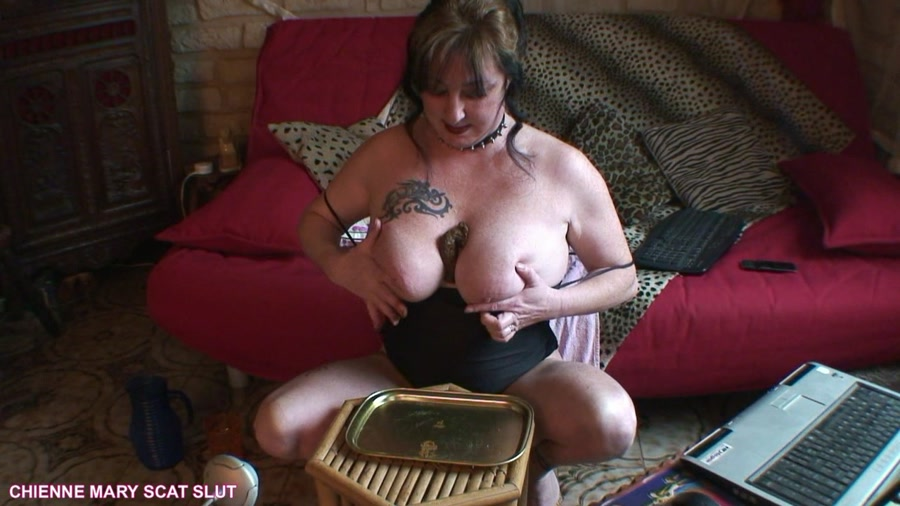 Chienne Mary French Scat Slut - Webcam Scat Show [HD 720p]