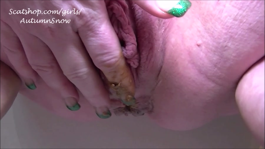 cum shit - Autumn's Awesome Shit - 3 Pushing Grunting Shits Then Cum ...