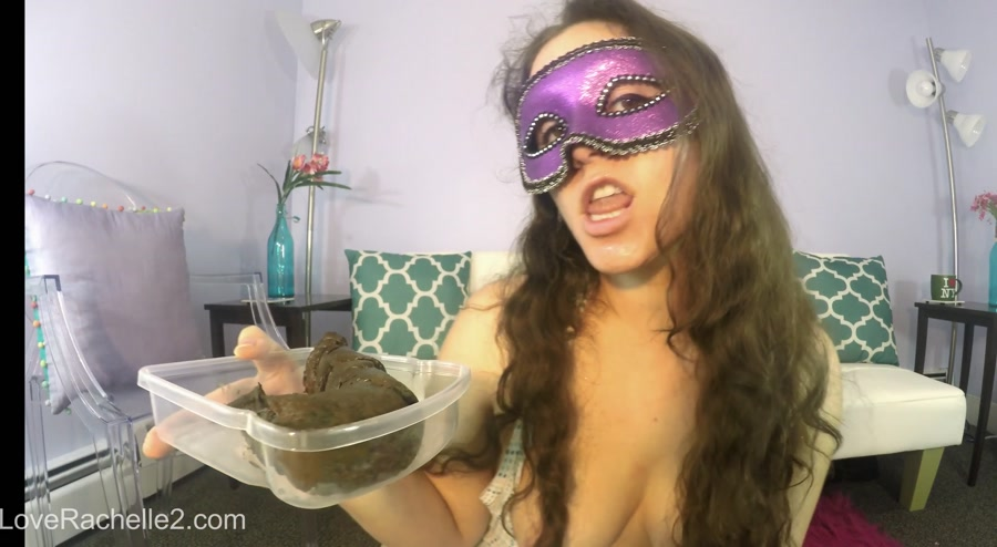 LoveRachelle2 - Lick and EAT This Perfect Poop With Me! [HD 720p]