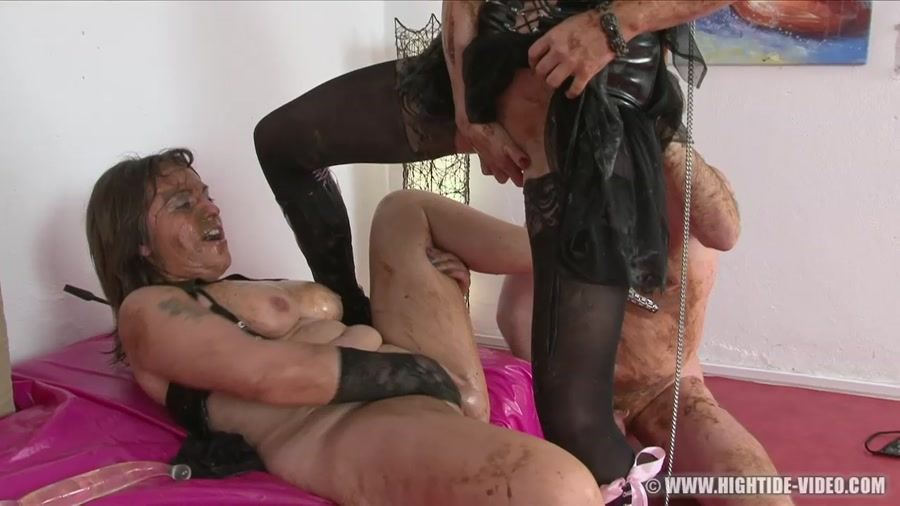 Regina Bella, Gina, 1 Male - SCAT SUBMISSION [HD 720p]