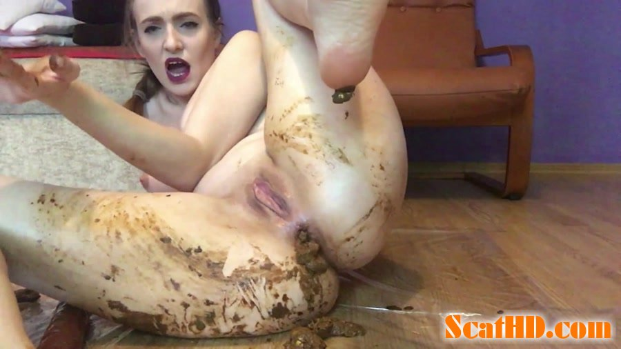 DianaSpark - Fucking my assohle make me a BIG SHIT [FullHD 1080p]