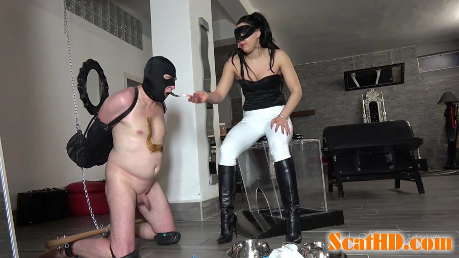 MISTRESS GAIA - BOUND TO BE FED [FullHD 1080p]
