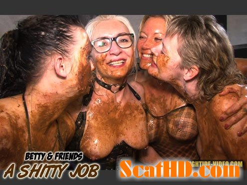 Betty, Molly, Monalisa, Sexy- BETTY & FRIENDS - A SHITTY JOB [HD 720p]