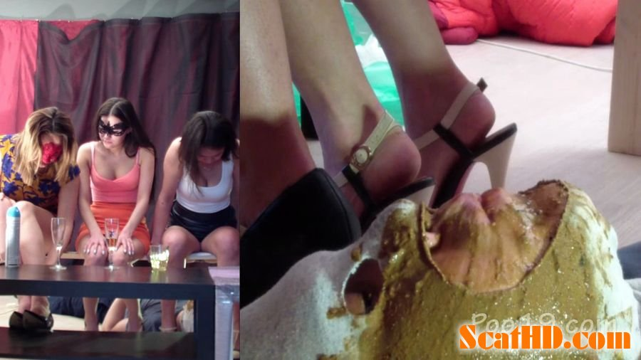 MilanaSmelly - Group use of female toilet slave [HD 720p]