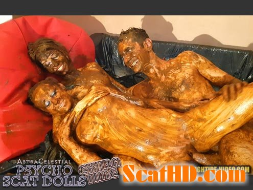 Jane, Sandy, 1 male - ASTRACELESTIAL PSYCHO SCAT DOLLS EXTRATIME [HD 720p]