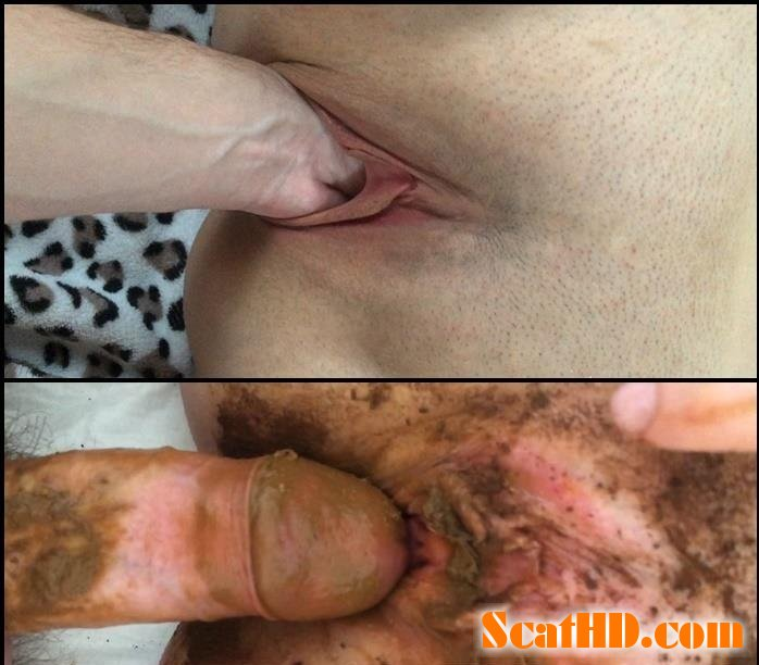 Youngwildperverz - Creampie of full scat pussy compilation [FullHD 1080p]