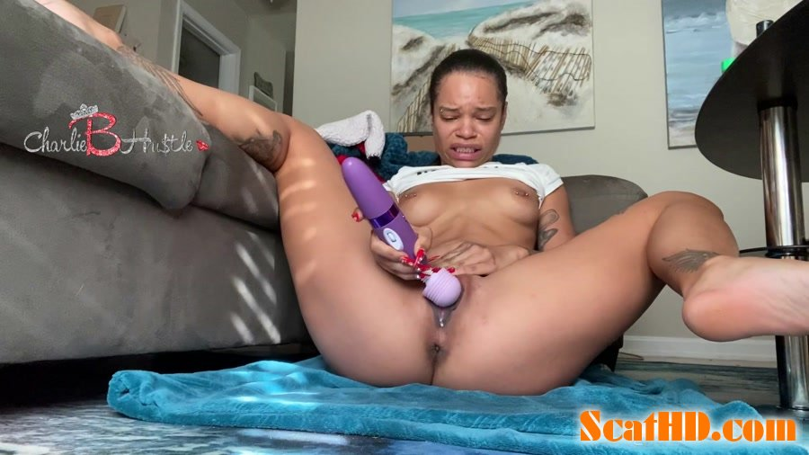 ScatCatCharlieB - Solo double penetration gone wrong [FullHD 1080p]