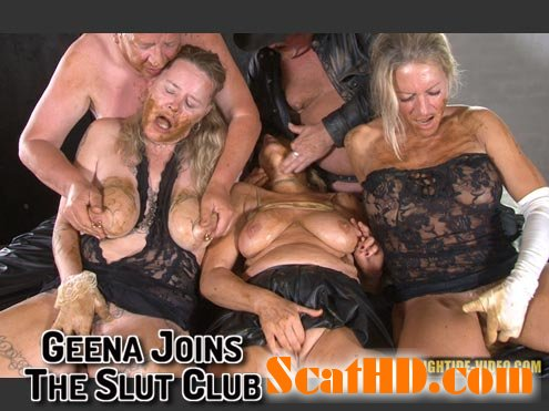 Geena, Molly, Sexy, 2 males - GEENA JOINS THE SLUT CLUB [HD 720p]