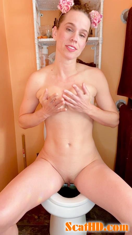 VibeWithMolly - I cum while pooping on the toilet [UltraHD 2K]