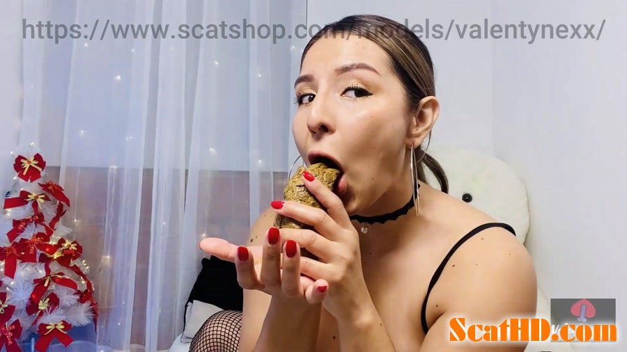 Valentynexx - Licking my hard poo! [FullHD 1080p]