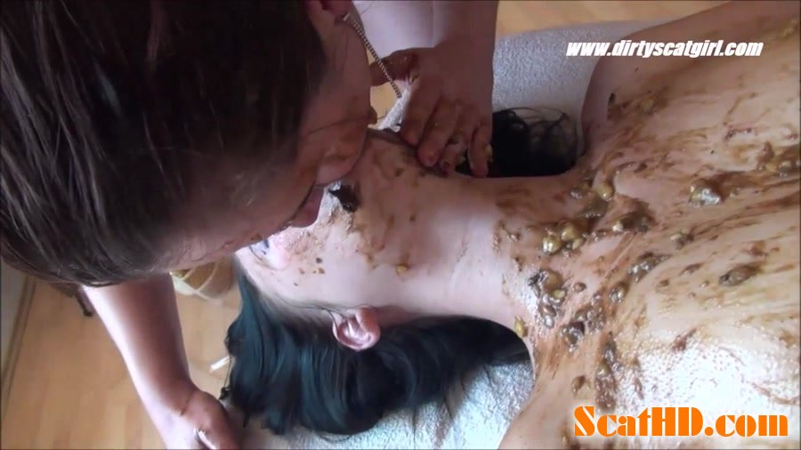 Betty, Victoria, 1 males - Shit Massage Parlour [HD 720p]