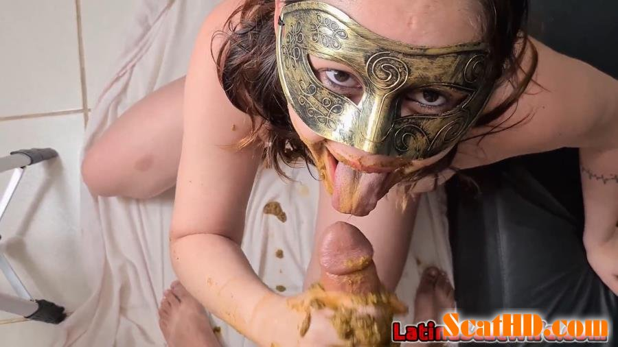 Defecation, Extreme Scat, Scatology, Sex Scat, Blowjob - Dirty Blowjob 3 [FullHD 1080p]